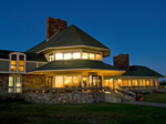 IMG: Queen Wilhelmina Lodge at Night
