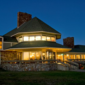 IMG: Queen Wilhelmina Lodge at Night