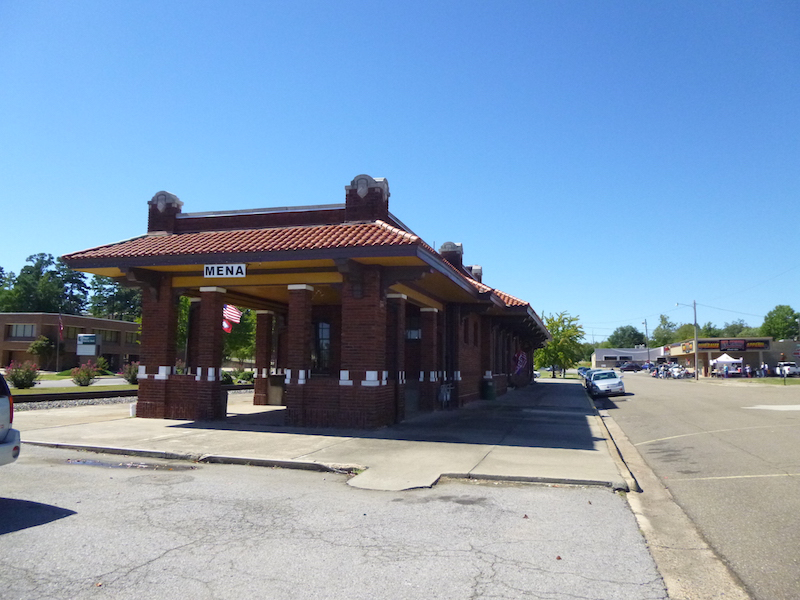 IMG: Mena AR Old Railroad Station