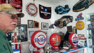 Antique car collection