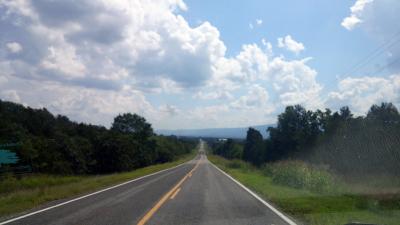 Heading to Queen Wilhelmina State Park